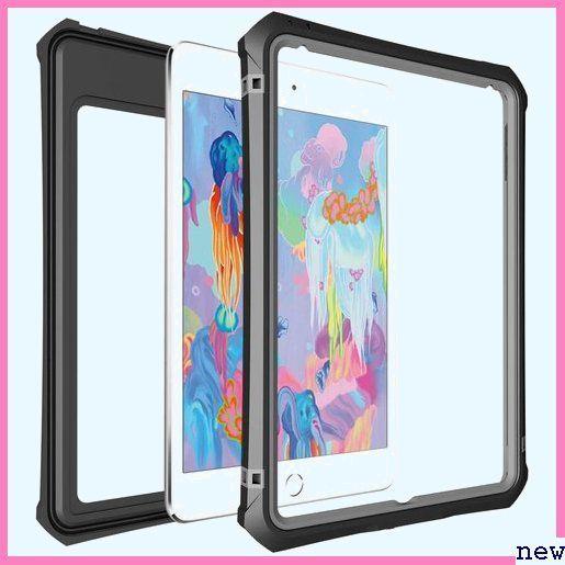 新品★zuqlk iPad/mini5/防水ケース/アイパッド/mini 付き ア/全面保護/スタンド機能/お風呂/プール 391_画像2