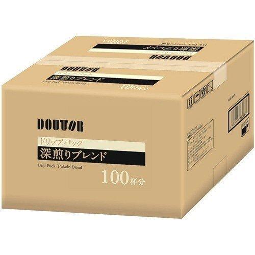 ドトール☆ドリップコーヒー☆深煎りブレンド 100袋入(1ケース)  送料込み