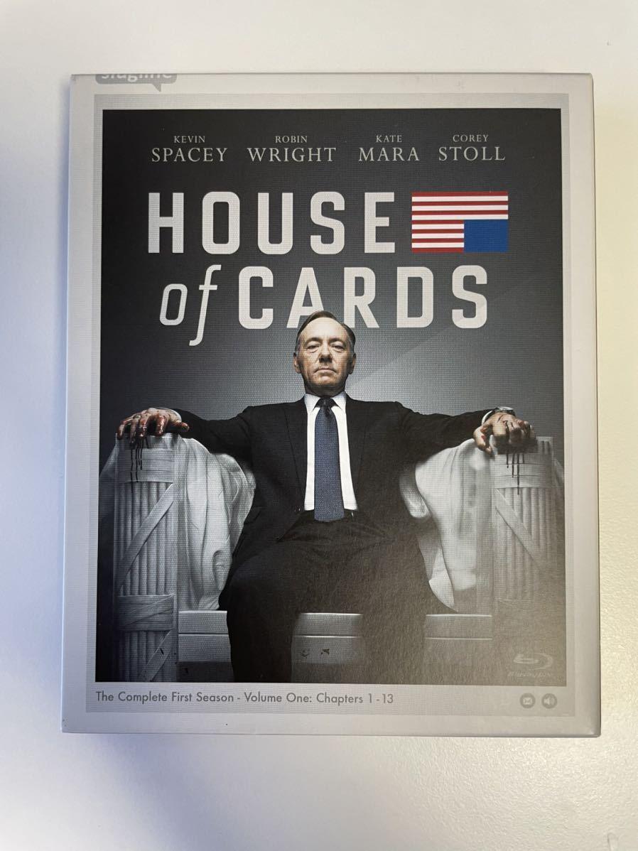 Blu-ray ハウス・オブ・カード 野望の階段 シーズン1 BOX