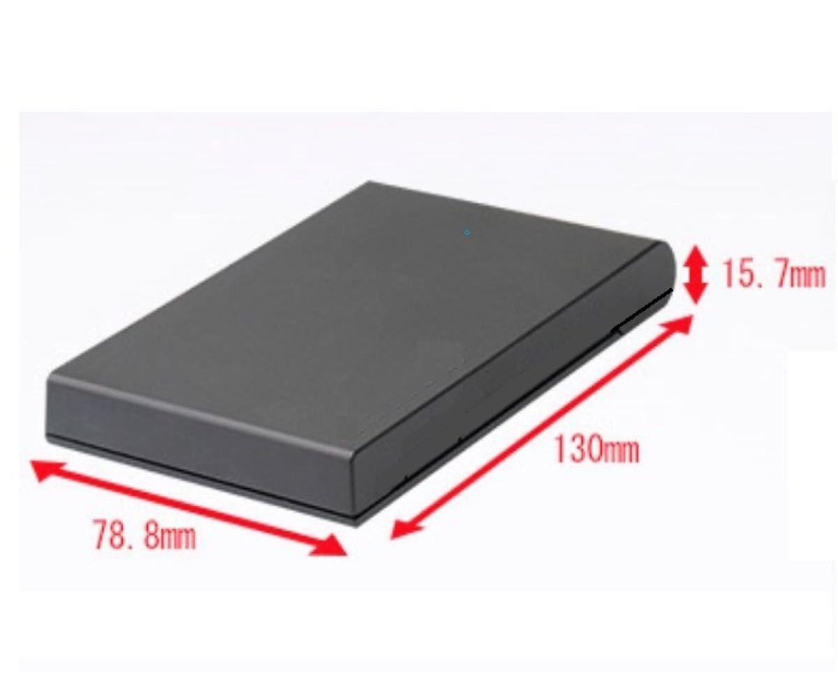 外付けハードディスク 750GB/新品ケース/外付けHDD/USB3.0