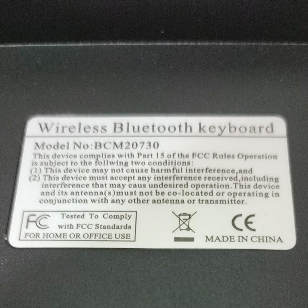 Bluetooth  ワイヤレスキーボード Bluetoothキーボード 無線キーボード BCM20730