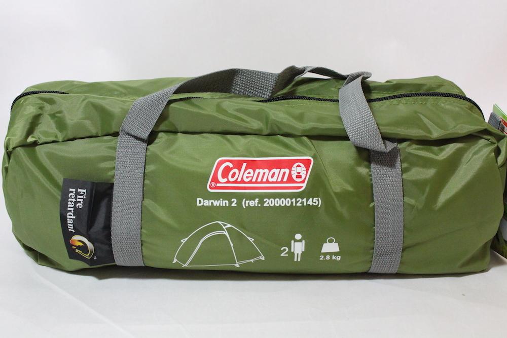Coleman コールマン DARWIN 2 ダーウィン ヨーロッパモデル ソロキャンプ 海外 日本未発売 ドームテント ツーリング  レア