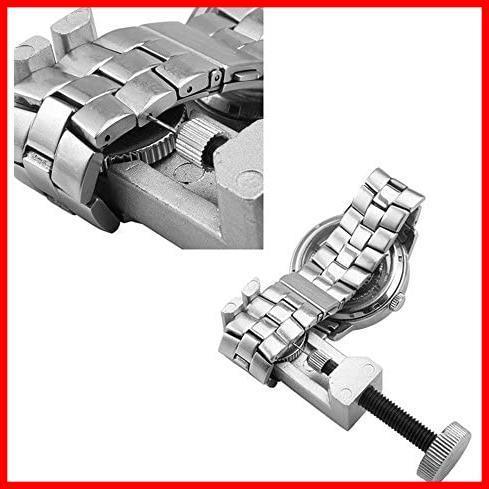 Powanfity_JP 時計工具 腕時計工具 腕時計ベルト 調整工具 セット バンド修理 サイズ調整 ベルト調整 ツール ミニ精密 初心者_画像4
