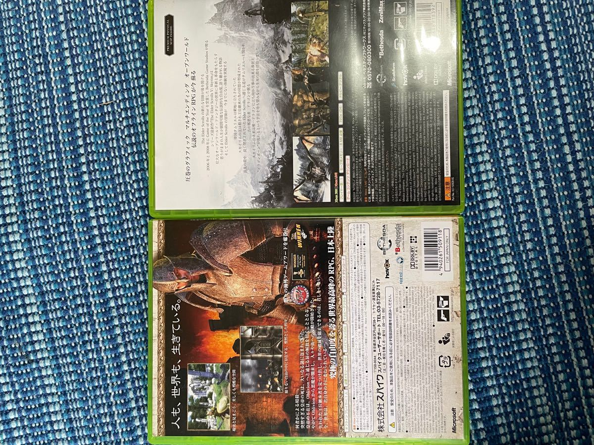 Xbox360ソフト2本セット