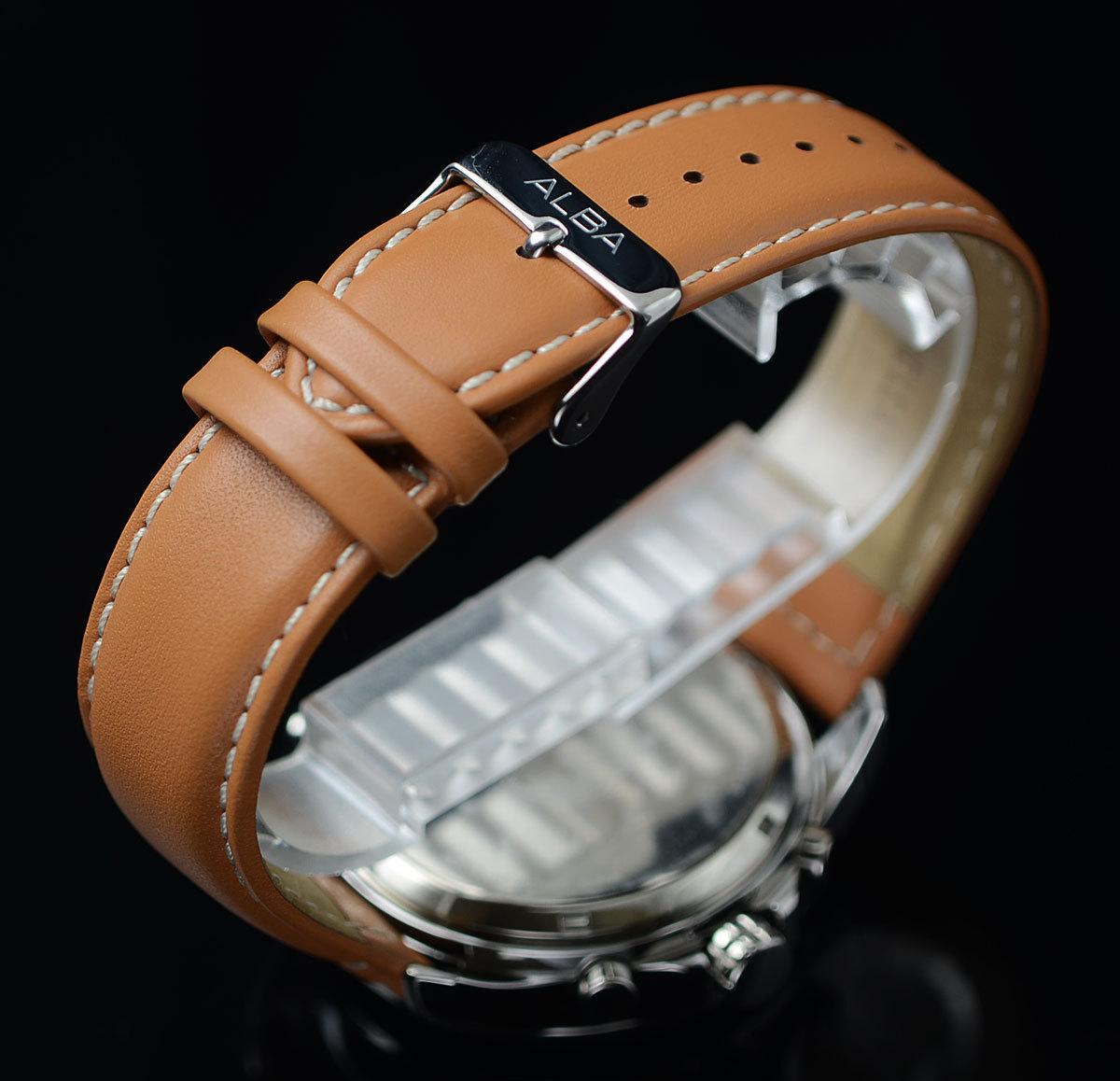 1円×3本 セイコーALBA逆輸入 デジアナ 100m防水 クロノグラフ ワールドタイム アラーム 新品メンズ激レア入手困難 日本未発売 SEIKO腕時計_画像6