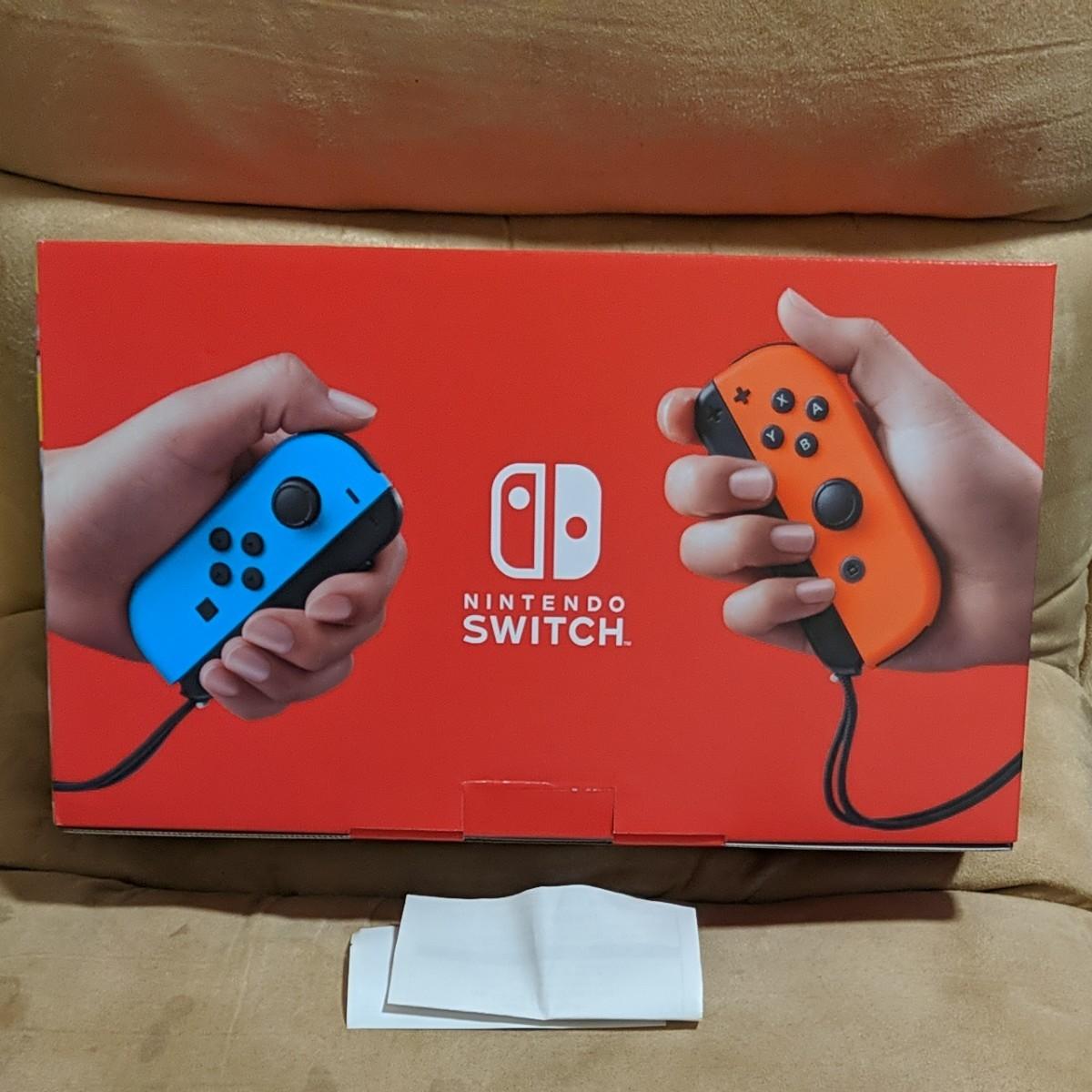 新品未使用品  ニンテンドースイッチ 本体  ネオン  Nintendo Switch  任天堂  Joy-Con