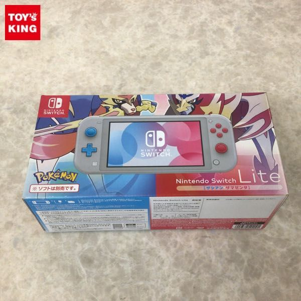 1円~ 動作確認済/初期化済 Nintendo Switch Lite HDH-001 ザシアン・ザマゼンタ 本体_画像1