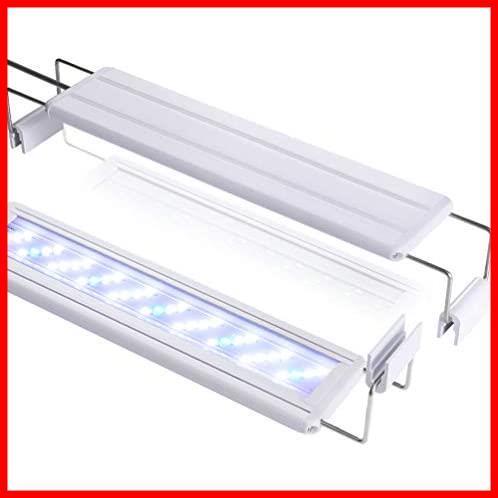 2C 新品 39個LED 50~60cm対応 10W 熱帯魚/観賞魚飼育・水草育成・水槽照明用 ledアクアリウムライト 在庫限り 省エネ 水槽ライト 長寿命_画像1