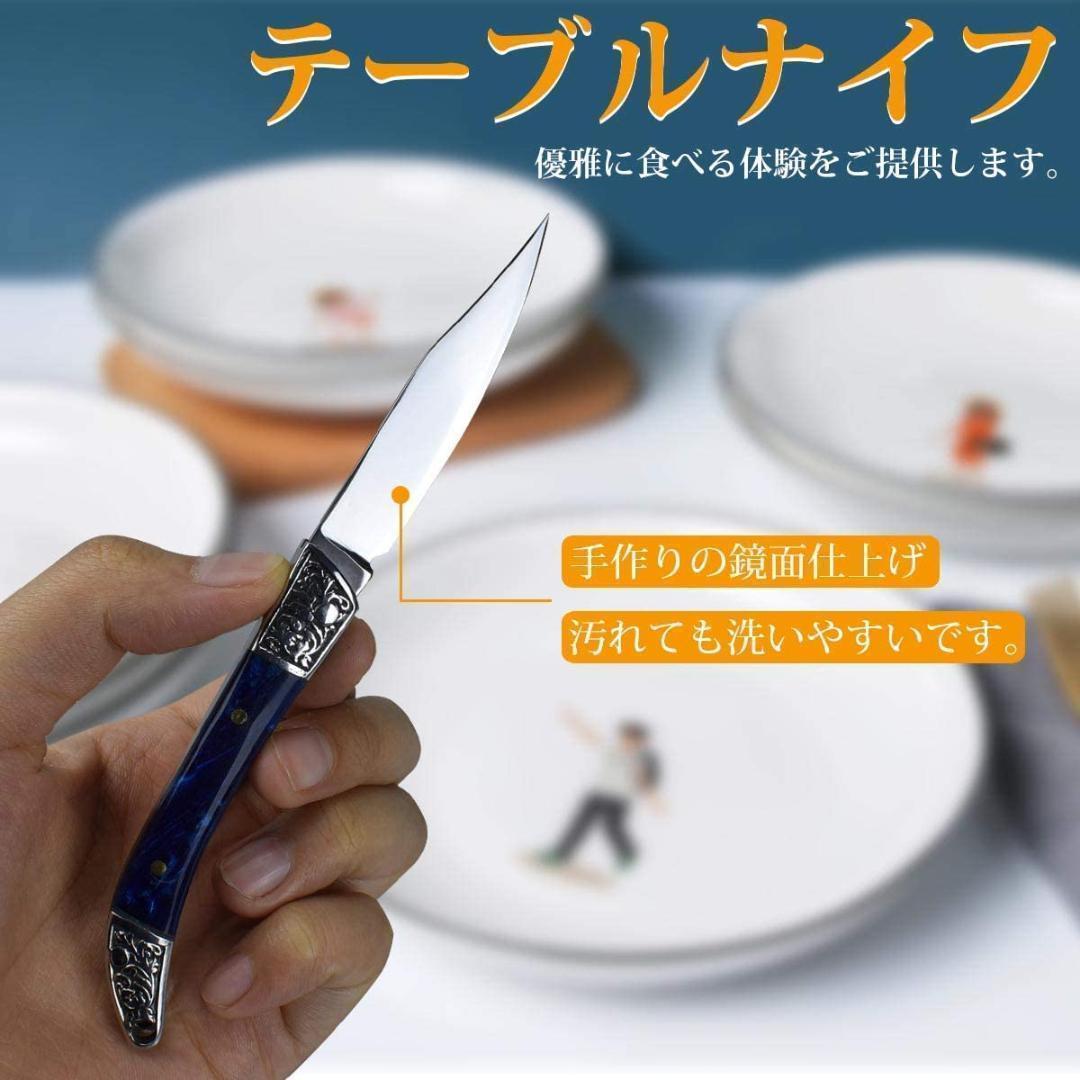 ナイフ 折りたたみナイフ 小型ポケットミニナイフ キャンプ アウトドア 釣り 鏡面仕上げ