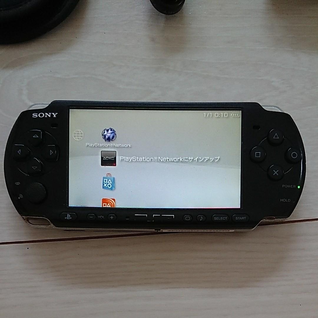 PSP-3000本体  ブラック  動作確認済み