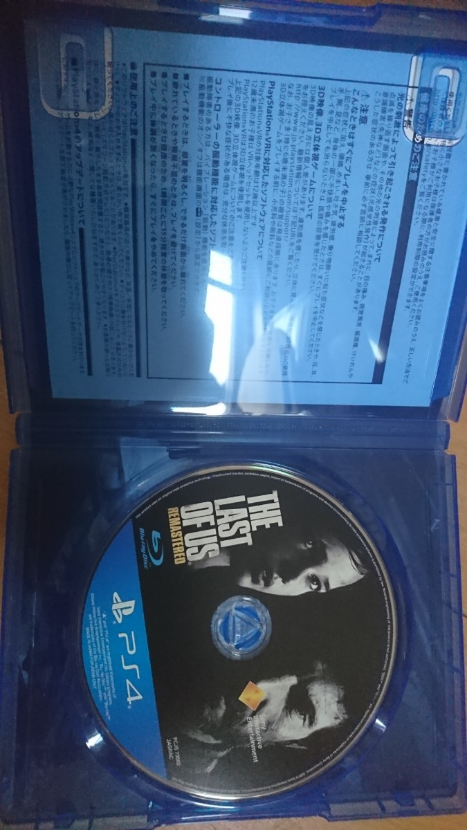 THE LAST OF US  PS4版