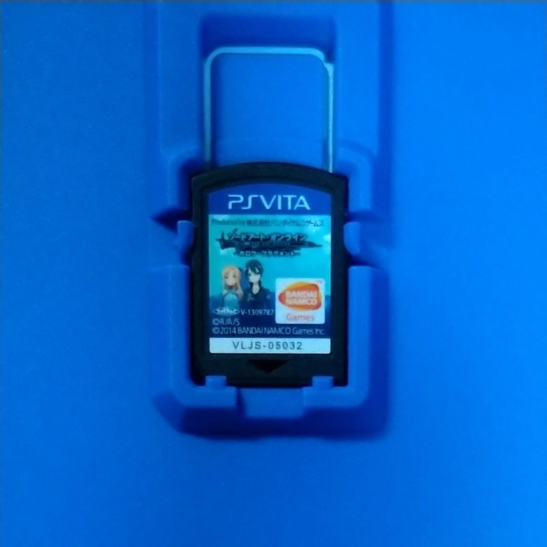 PSVITAソフト ソードアート・オンラインホロウ・フラグメント 初回限定生産版