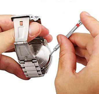 「セエダ」 精密ドライバー 腕時計 マイナス 工具セット 電池交換 ベルト調整 時計 メガネ 修理 工具 5本セット_画像4