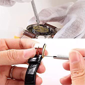 「セエダ」 精密ドライバー 腕時計 マイナス 工具セット 電池交換 ベルト調整 時計 メガネ 修理 工具 5本セット_画像6