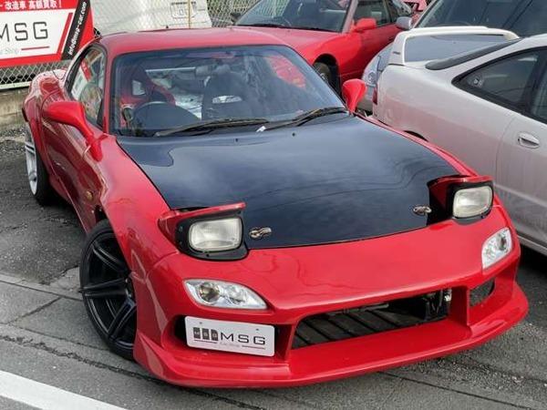 RX-7 タイプRB 6型 LSD 改造車買取 スポーツカー買取_下にある[写真を見る]で全写真を見れます