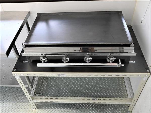 「タイタンダッシュ キッチンカー コンロ 100V電源 作業台 証明 AT車」の画像2