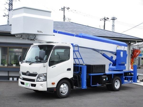「デュトロ AT-220TG FRPバケット タダノ 22m 高所作業車」の画像1