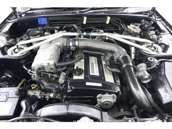 スカイラインクーペ 2.0 GTS-4 4WD テイン車高調レイズアルミHKSブローオフ_画像6
