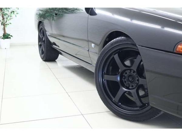 スカイラインクーペ 2.0 GTS-4 4WD テイン車高調レイズアルミHKSブローオフ_画像9