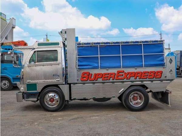「エルフ アートトラック仕様 デコトラ 2tダンプ コボレーン付き 鳥居アングル補強 マニ割り」の画像3