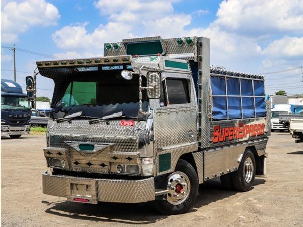 「エルフ アートトラック仕様 デコトラ 2tダンプ コボレーン付き 鳥居アングル補強 マニ割り」の画像1
