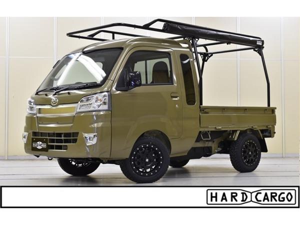 「ハイゼットトラック 660 ジャンボ 3方開 4WD キャリア サイドオーニング MLJアルミ」の画像1