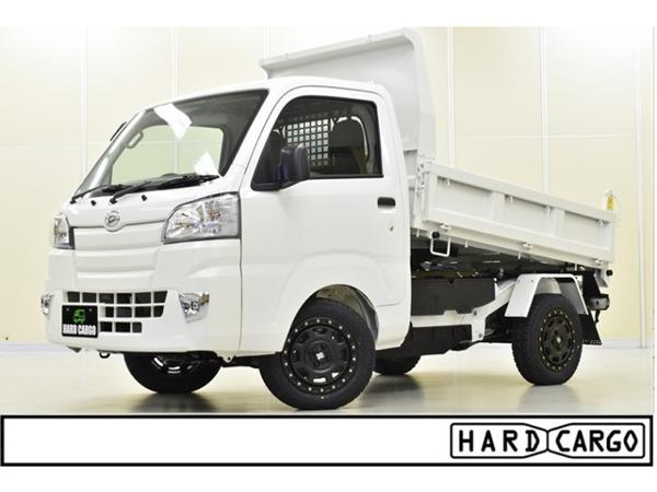 「ハイゼットトラック 660 多目的ダンプ PTO式 3方開 4WD PTOダンプ MLJアルミ シフトノブ」の画像1