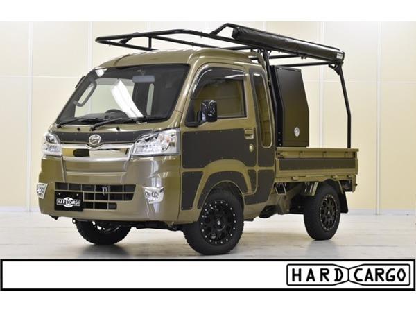 「ハイゼットトラック 660 ジャンボ 3方開 4WD キャリア サイドオーニング ボックス」の画像1