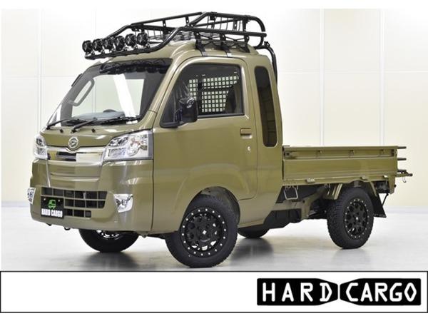 「ハイゼットトラック 660 ジャンボ 3方開 4WD ルーフラック ガード ゲート MLJアルミ」の画像1