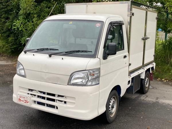「ハイゼットトラック 660 エアコン・パワステスペシャル 3方開 加温・冷蔵冷凍車 タイベル交換済 -5℃設定」の画像1