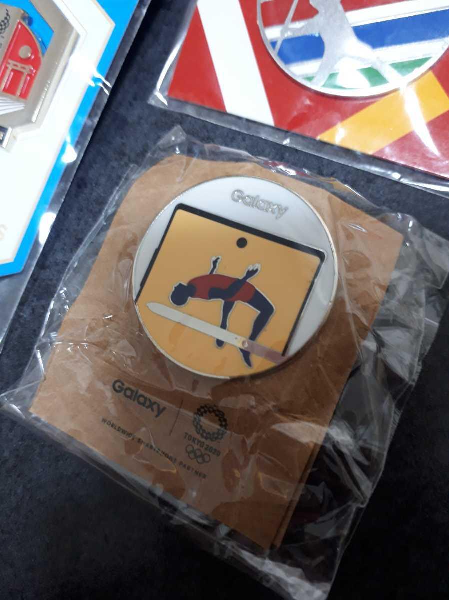 東京オリンピック ピンバッジ ピンバッチ 2020 陸上 パラリンピック EF GALAXY コカ・コーラ 未使用 3個セット
