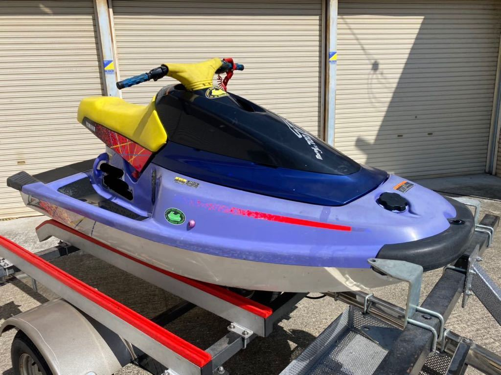 「【大阪発】中古艇 YAMAHA マリンジェット TZ700 ノーマル艇 エンジン始動確認済み 値引き交渉OK 」の画像1