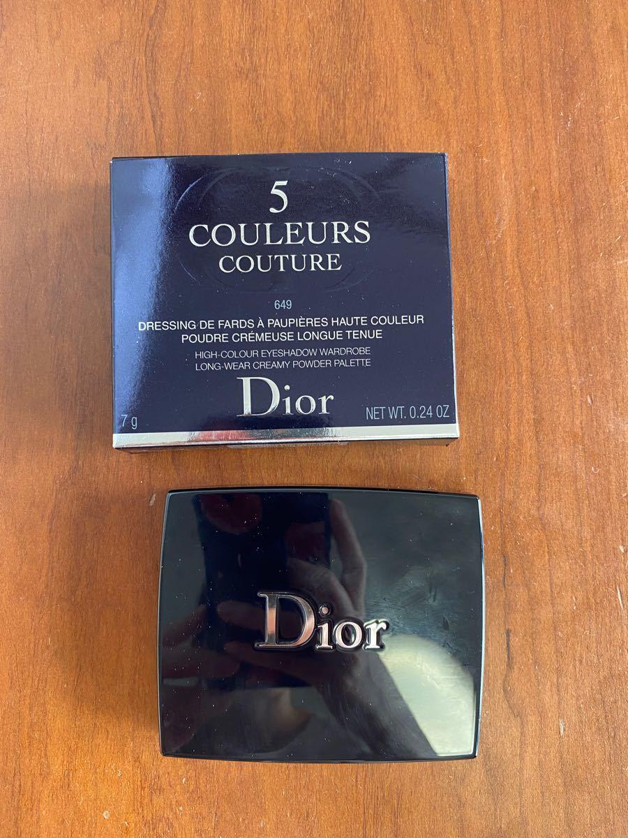 Dior ディオール サンククルールクチュール #649 ヌードドレス アイシャドウ
