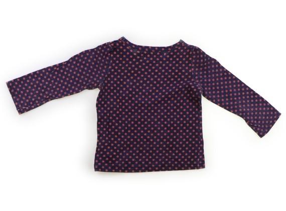 スワップミートマーケット SWAP MEET MARKET Tシャツ・カットソー 100 女の子 紫・オレンジドット柄 子供服 ベビー服 キッズ(833273)_画像2