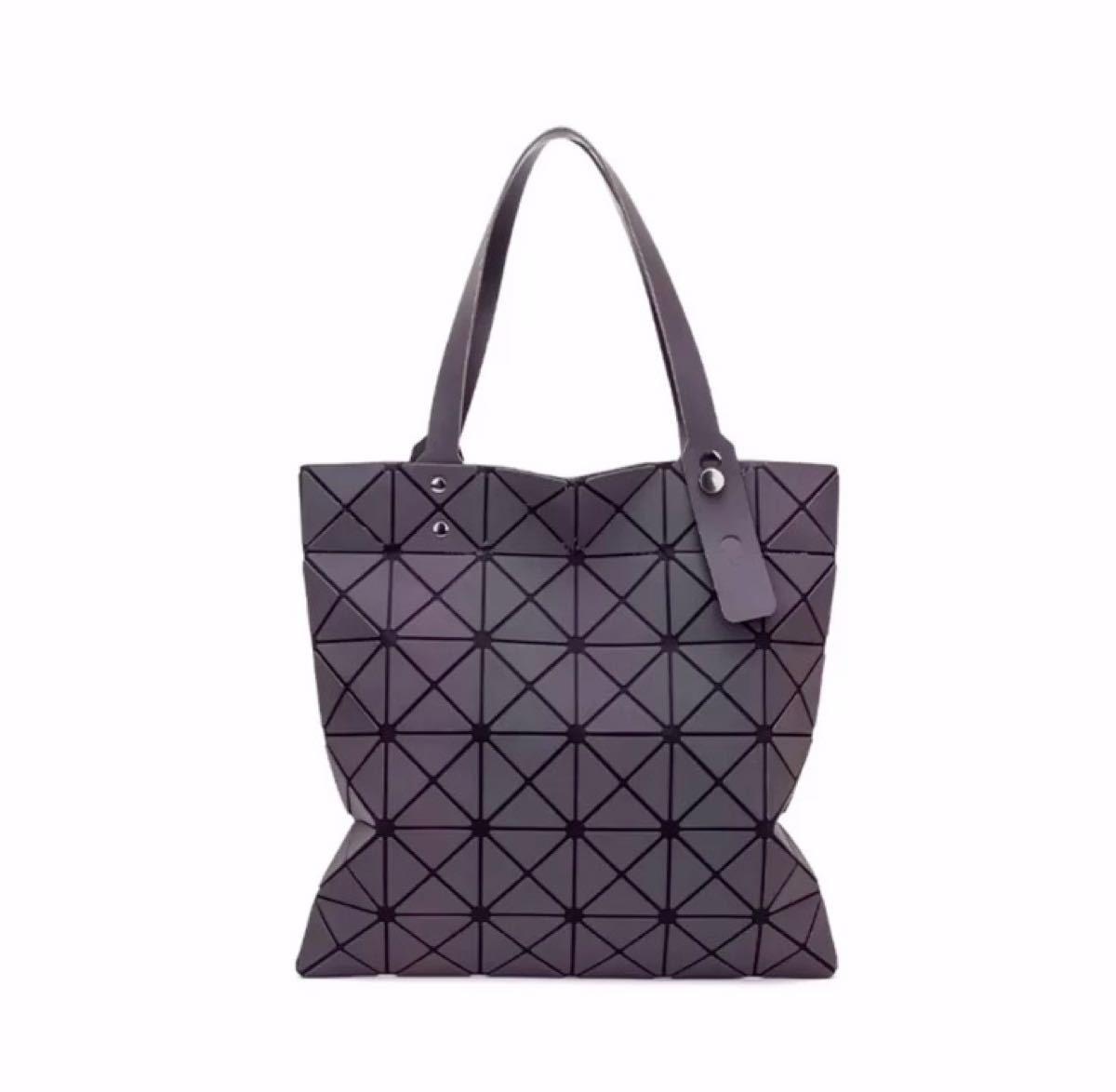 トートバッグ バックパック 肩掛けバック レディースバッグ 幾何学模様 特徴的 ブラック