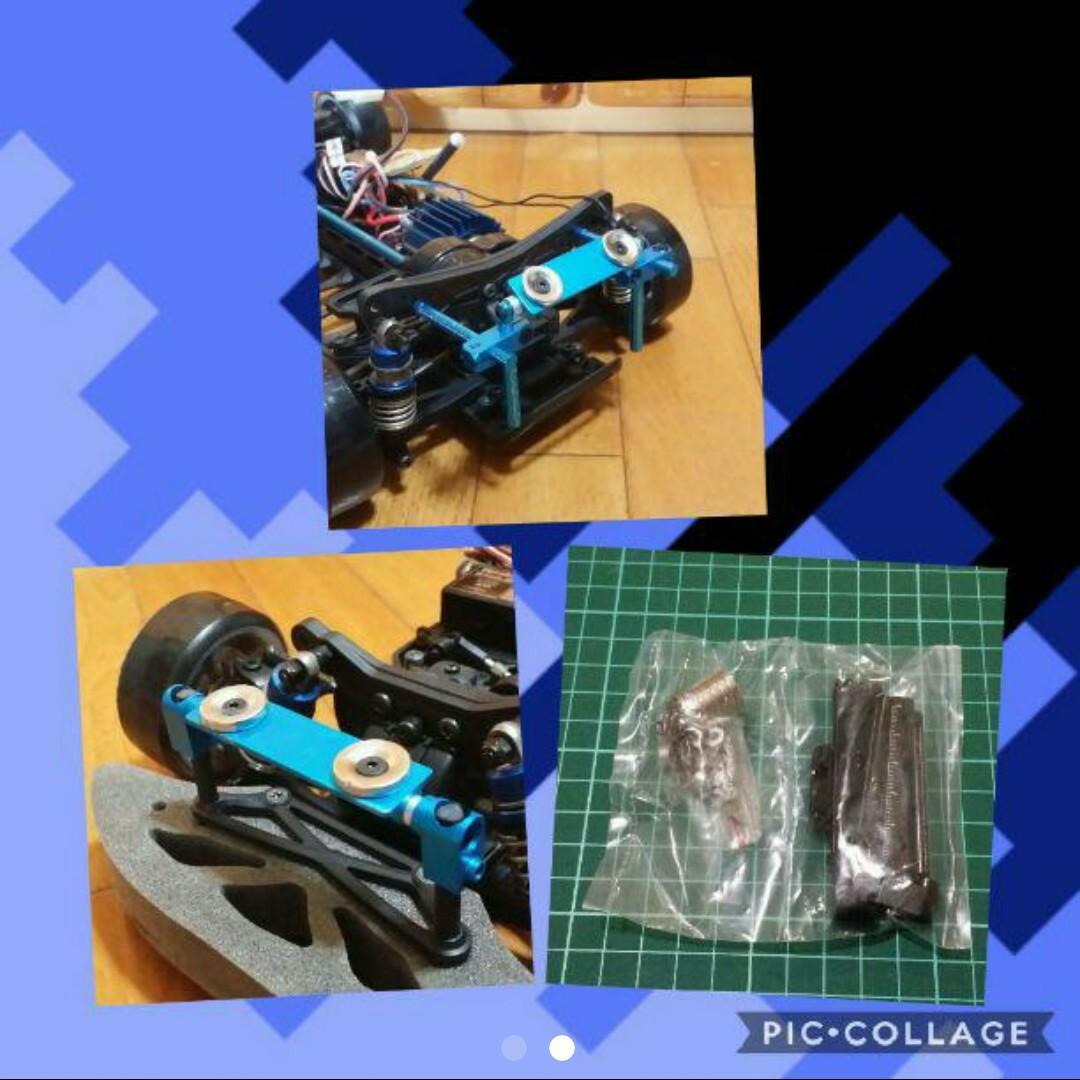ステルス ボディ マウント 黒    ラジコン ドリパケ YD-2 ヨコモ ART tt01 tt02 イーグル タミヤ ドリフト