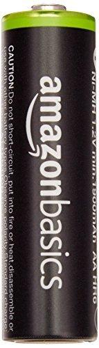 Amazonベーシック 充電池 充電式ニッケル水素電池 単3形4個セット (最小容量1900mAh、約1000回使用可能)_画像2