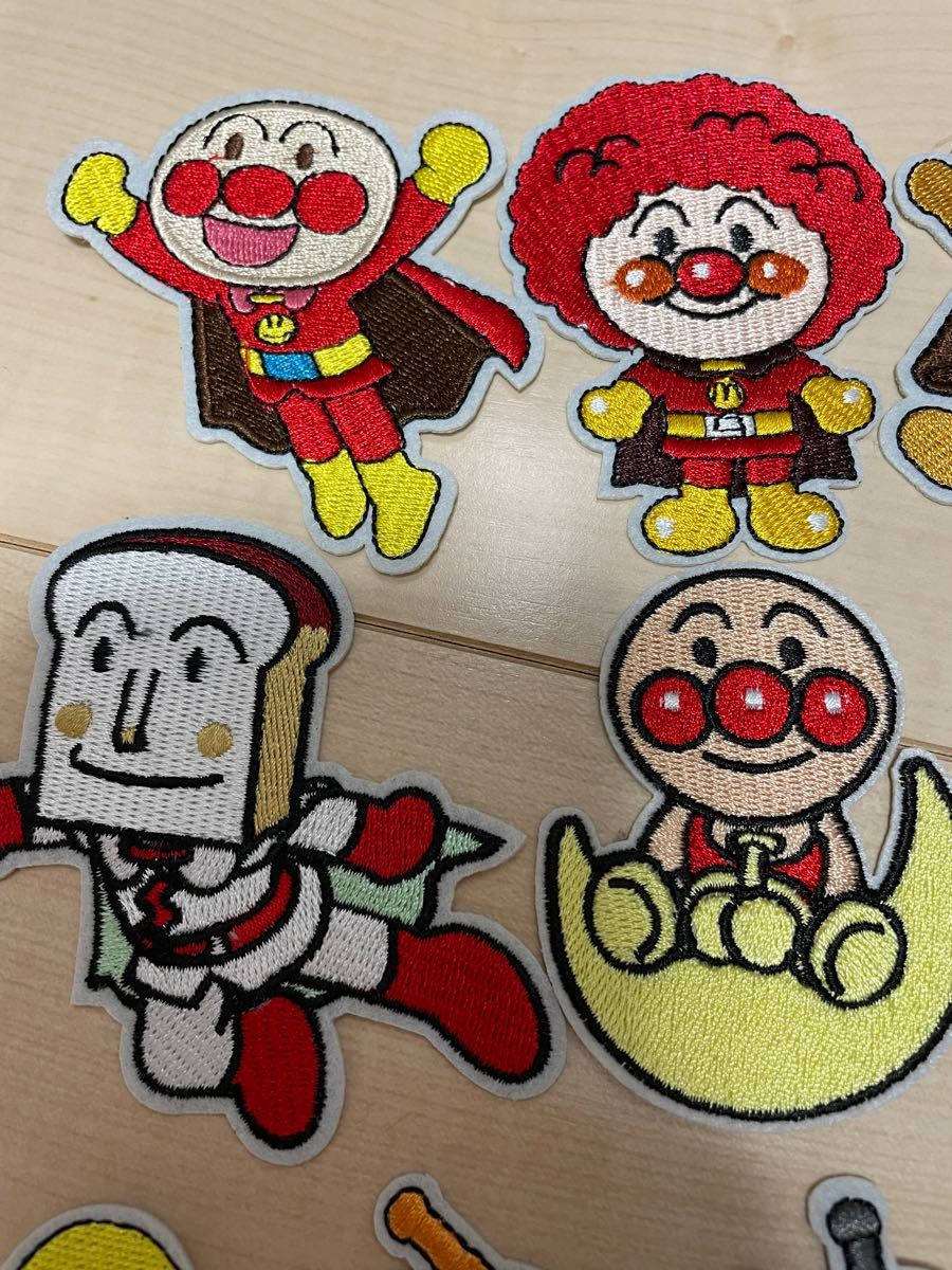 アイロンワッペン 刺繍 10枚セット