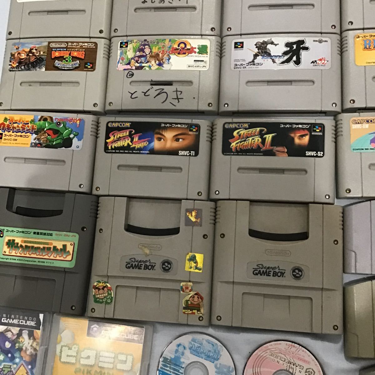 【中古任天堂ソフト】Nintendo ゲームボーイ ゲームボーイカラー スーパーファミコン 64 アドバンス DS キューブ まとめて87点_画像5