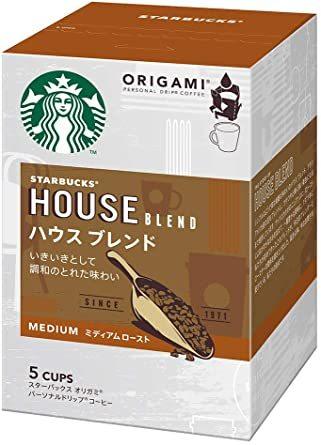 スターバックス 「Starbucks(R)」 ハウスブレンド (箱)オリガミ パーソナルドリップ コーヒー (5袋入)&time_画像2