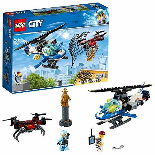 レゴ(LEGO) シティ ポリスヘリコプターのドローンチェイス 60207 ブロック おもちゃ 男の子 車_画像2