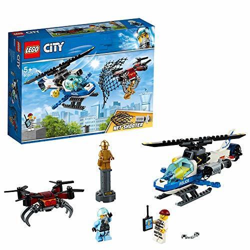 レゴ(LEGO) シティ ポリスヘリコプターのドローンチェイス 60207 ブロック おもちゃ 男の子 車_画像1
