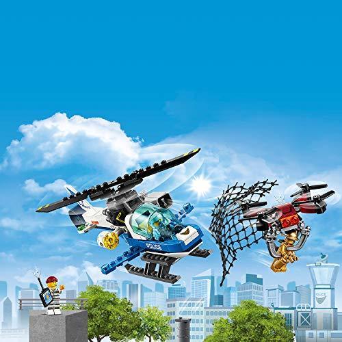 レゴ(LEGO) シティ ポリスヘリコプターのドローンチェイス 60207 ブロック おもちゃ 男の子 車_画像3