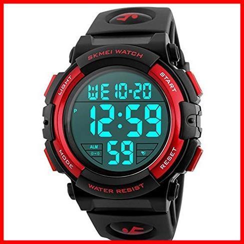 2G 新品 新品Timever(タイムエバー)デジタル腕時計 スポーツウォッチ watch 防水腕時計 在庫限り 在庫限り アラーム メンズ led 1T_画像1