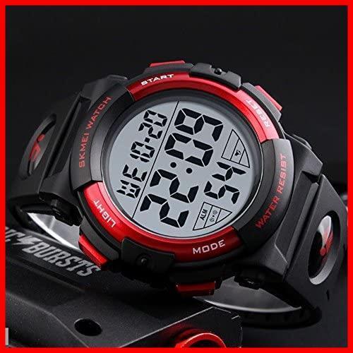 2G 新品 新品Timever(タイムエバー)デジタル腕時計 スポーツウォッチ watch 防水腕時計 在庫限り 在庫限り アラーム メンズ led 1T_画像2