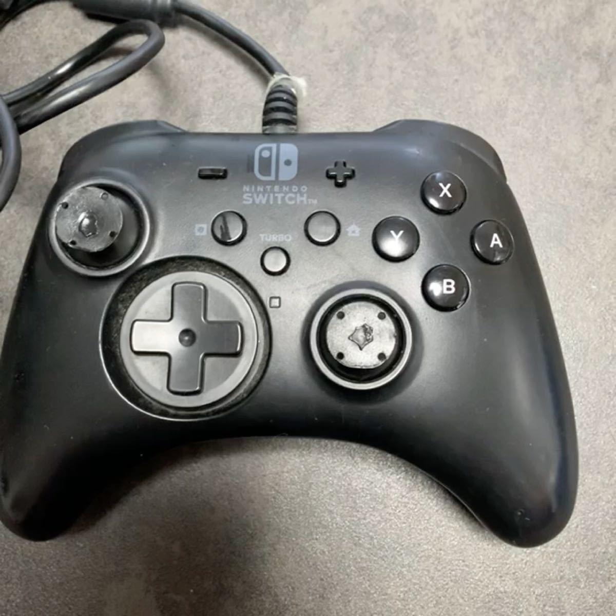 【ジャンク品】 動作しません 【箱・説明書なし】Nintendo Switchコントローラー 任天堂 有線コントローラー