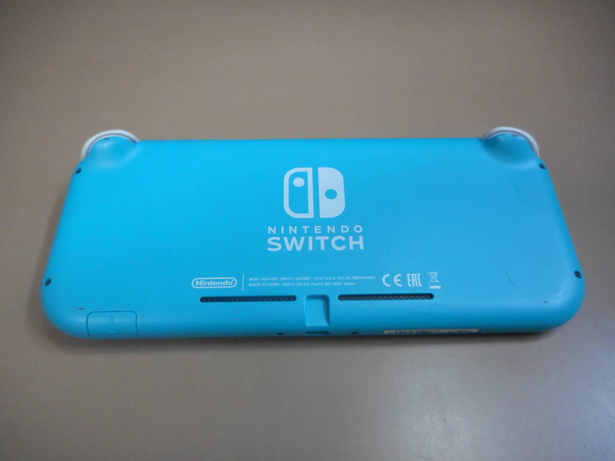 K056[LP][ゲーム機] ジャンク品 ニンテンドー スイッチ ライト ターコイズ/Nintendo Switch Lite/本体のみ 9/24出品_画像9