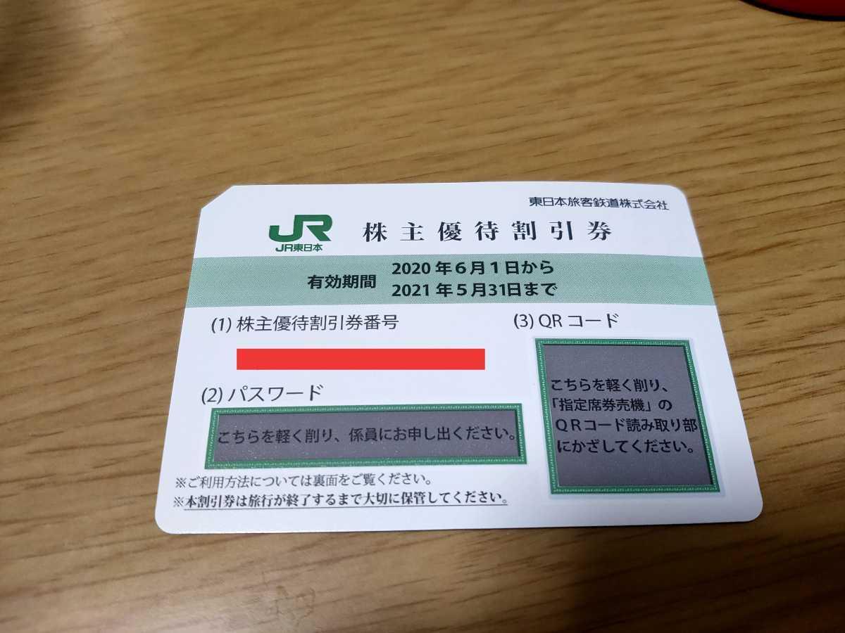 JR東日本 株主優待券 割引券 株主優待割引券 4割引_画像1