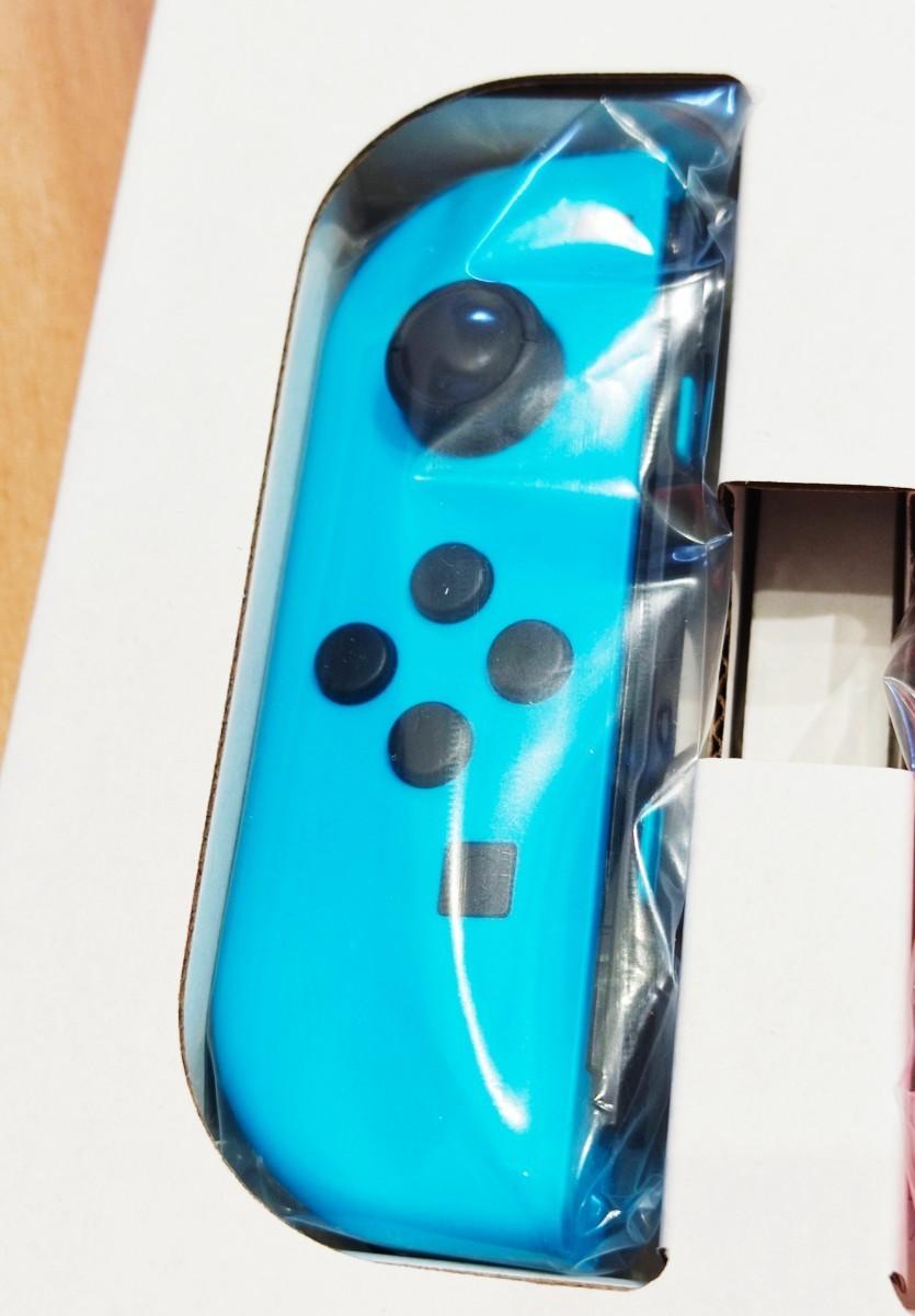 美品 Joy-Con 左側  ネオンブルー ニンテンドースイッチ Nintendo Switch Joy-Con (L)