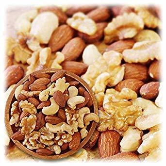ミックスナッツ 3種類 1kg 徳用 生くるみ 40% アーモンド 40% カシューナッツ 20% 素焼き オイル不使用 無塩 _画像1